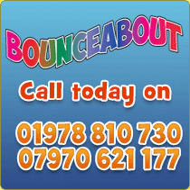 BounceAbout World of Castles - Call today on 01978 810 730 / 07970 621 177